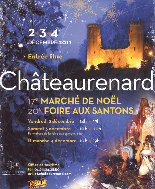 March de no l et foire aux santons - Office du tourisme chateaurenard ...